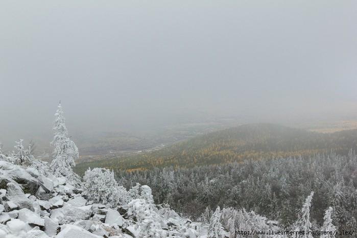 Гора качканар зимой фото